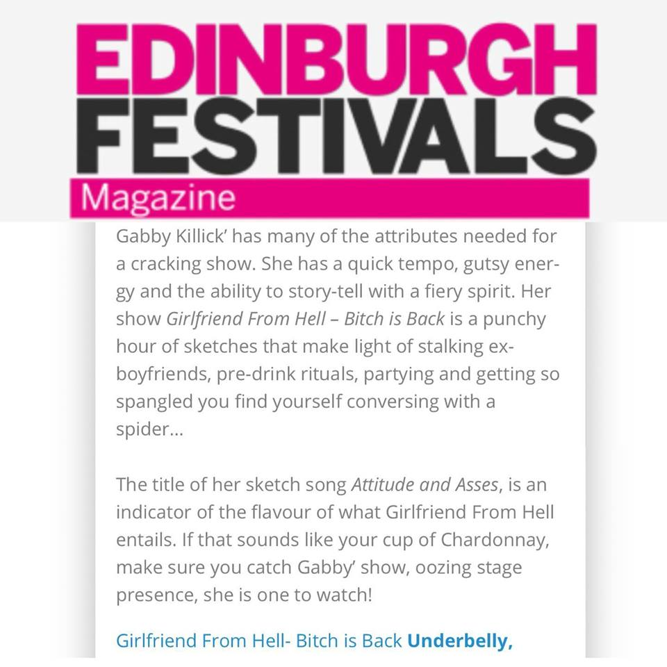Ed Fest Mag Review